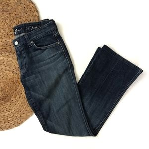 7 For All Mankind A pocket blue jeans sz 29